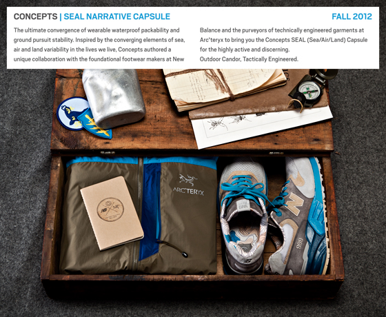 Concepts SEAL x New Balance capsule