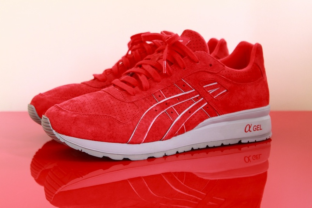Asics GT II x Ronnie Fieg SuperRed 2