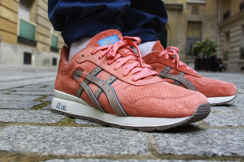Ronnie Fieg x Asics GT II Rose Gold