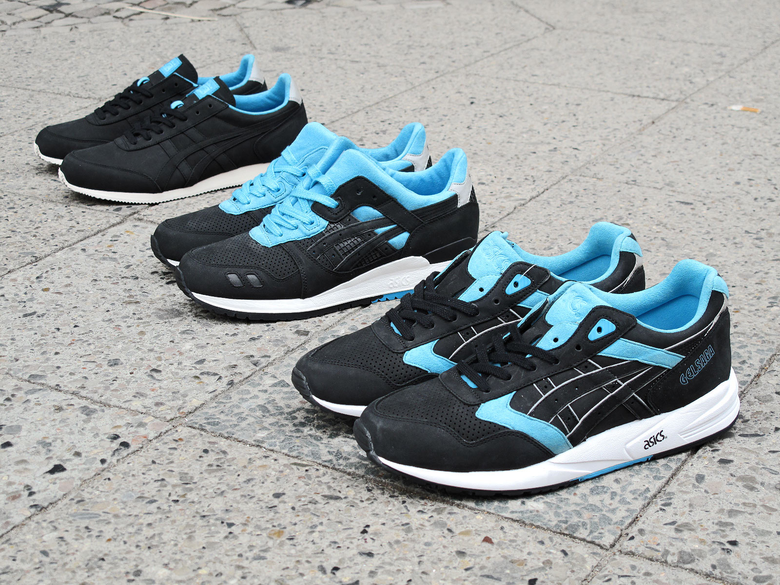 Asics x Solebox black