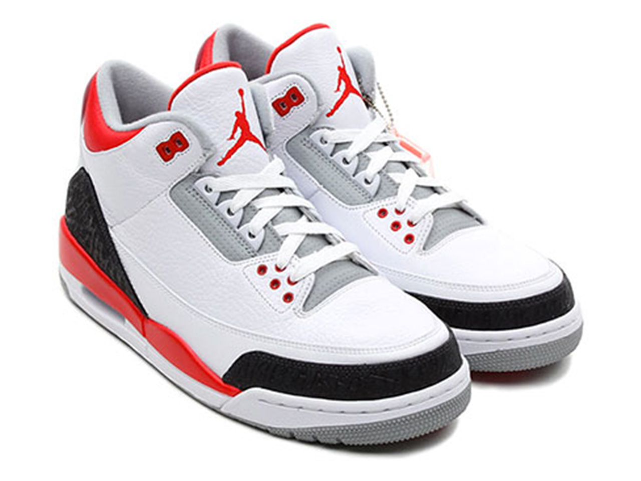"Air Jordan 3 ""Fire Red"" Retro 2013 Release info 