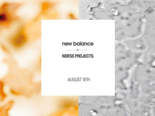 new balance norse projects teaser
