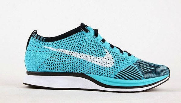 Turquoise Flyknit Racer