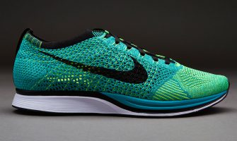 Nike Flyknit Racer Green Turquoise