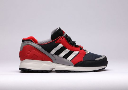 Adidas EQT Cushion bleue et rouge