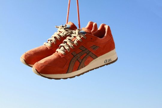Asics GT II Rose Gold x Ronnie Fieg