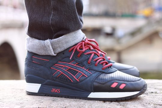 Asics x Ronnie Fieg Gel Lyte III Totale eclipse