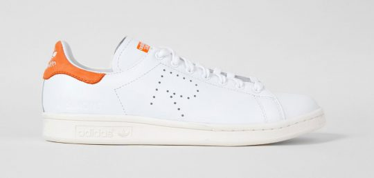 Adidas Stan Smith Raf Simons blanche orange