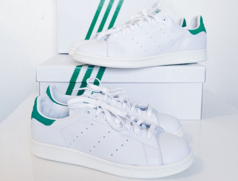 Stan Smith Verte Et Blanche