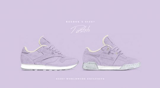 Reebok Pastel Pack Workout classic