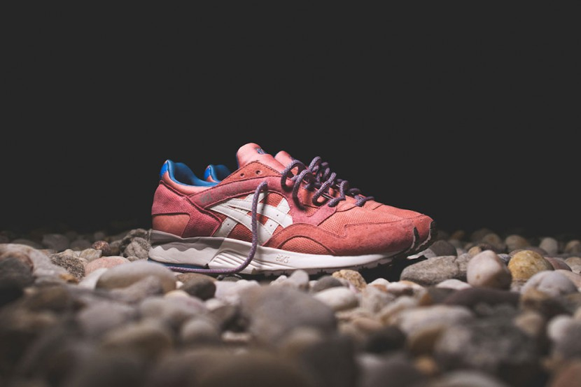 asics gel lyte 5 rose gold for sale