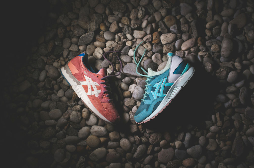Ronnie Fief Gel Lyte V Sage et Rose Gold