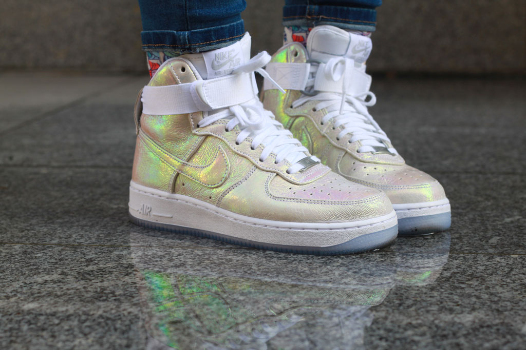 Nike Air Force 1 Iridescent pearl