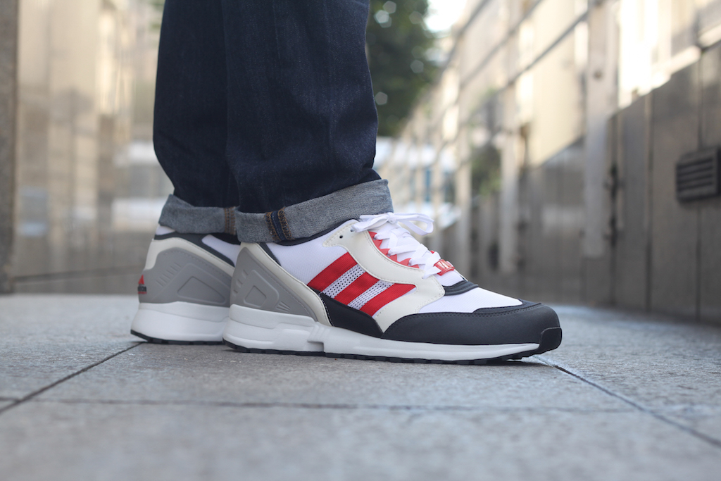 Adidas Cushion EQT 91 Rouge Blanc noir