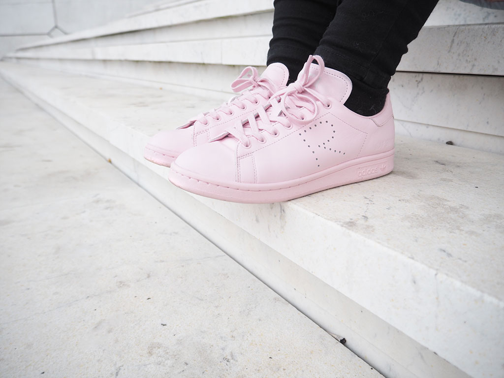Adidas Raf Simon Stan Smith pink