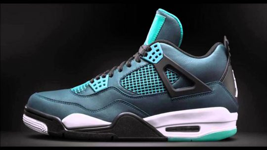 Air Jordan 4 (IV) Teal Remastered