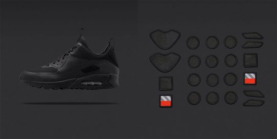 Nike Air Max 90 Sneakerboot SP Black Patch Pack