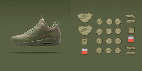 Nike Air Max 90 Sneakerboot SP Green Patch Pack