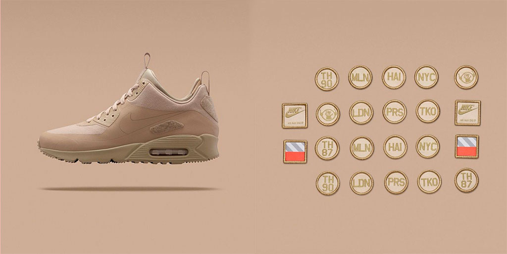 Nike Air Max 90 Sneakerboot SP Sand Patch Pack