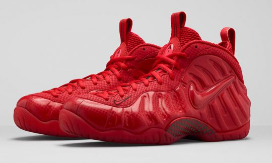 Ou acheter Nike Foamposite red October