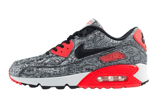 AM 90 Paisley Infrared