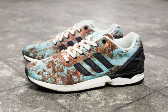 "adidas x Sneakersnstuff Originals ZX Flux ""Aged Copper"""