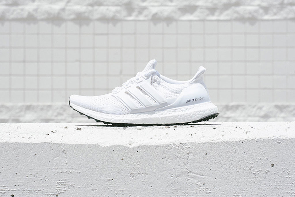 Adidas Boost france blanche