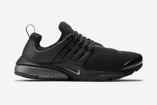 Nike Air Presto Black Fleece
