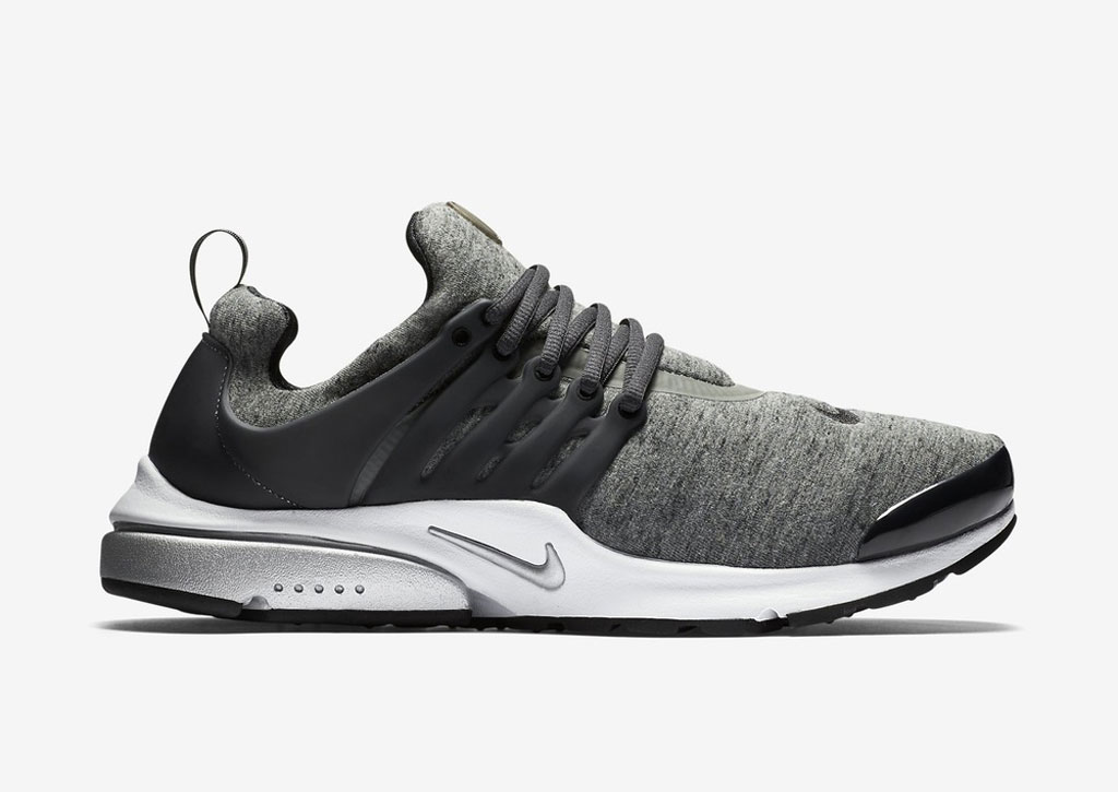 release nike air presto fleece grey onemesh. Black Bedroom Furniture Sets. Home Design Ideas