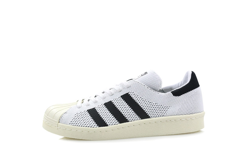 Adidas Primeknit superstar white