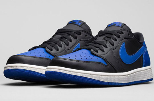 AJ1 Low Black Royal