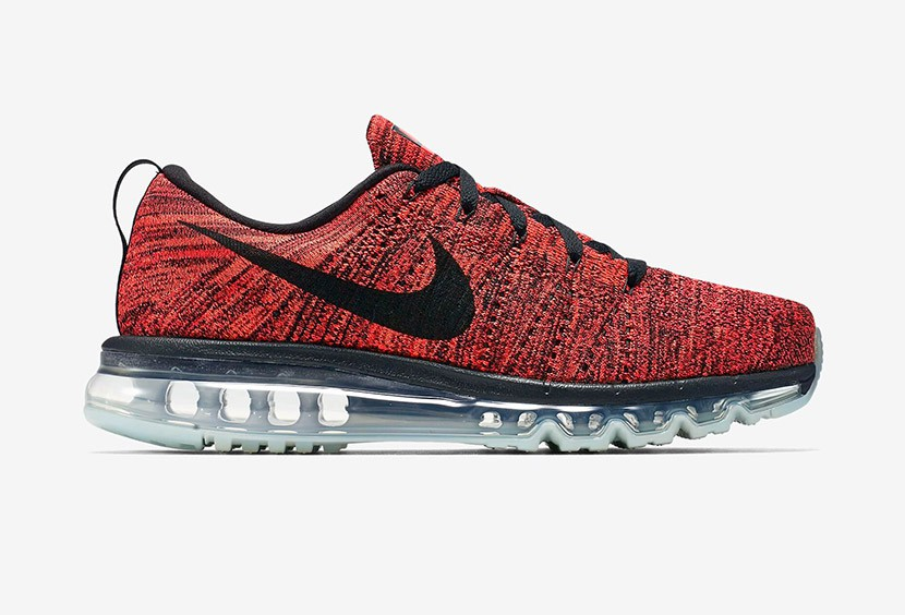 nike air max flyknit rouge