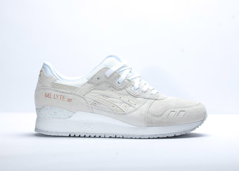 release asics gel lyte iii rose gold pack slight white onemesh. Black Bedroom Furniture Sets. Home Design Ideas