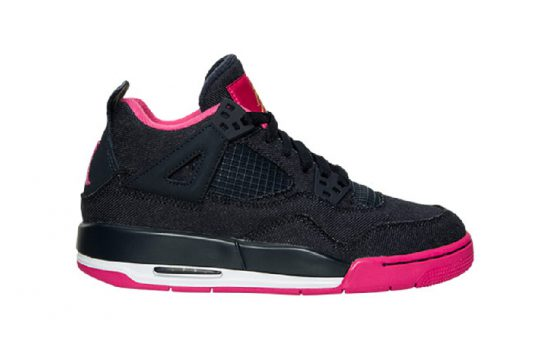 Acheter Nike Air Jordan 4 Girls Denim