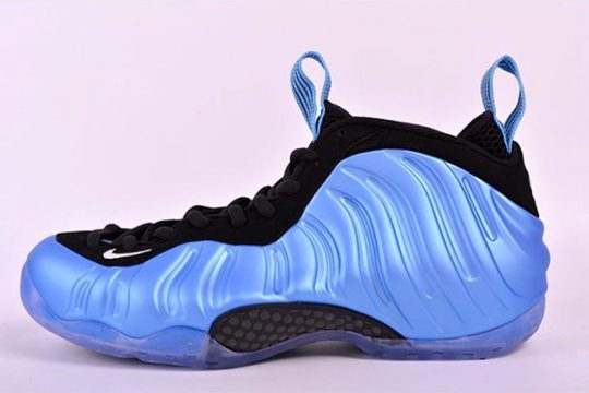 Infos de release Nike Air Foamposite One University Blue