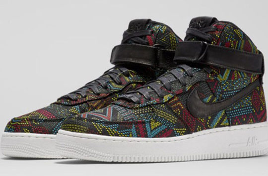 Shop Nike Air Force 1 Hi BHM 2016