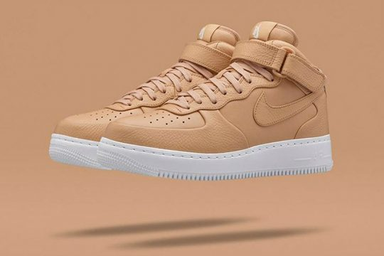 NikeLab Air Force 1 Mid Tan