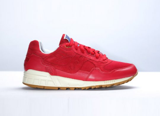 Saucony x Bodega Shadow 5000 Re-Issue Red