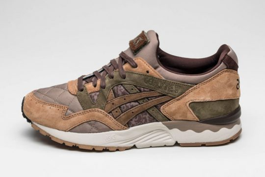 Ou acheter Kicks Lab x ASICS Gel Lyte V Mid Brown