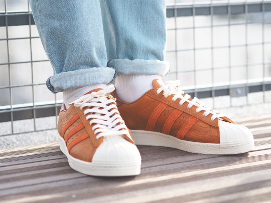 adidas Footpatrol Superstar on feet