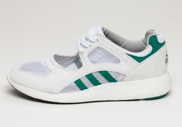 Adidas Eqt Racing White And Green