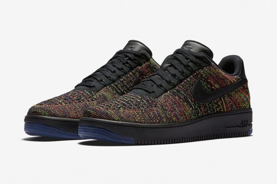 Nike Air Force 1 Lo Flyknit Multicolour Infos de release