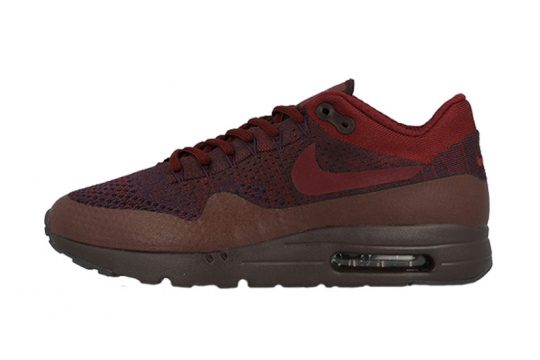 Nike Air Max 1 Ultra Flyknit Deep Burgundy
