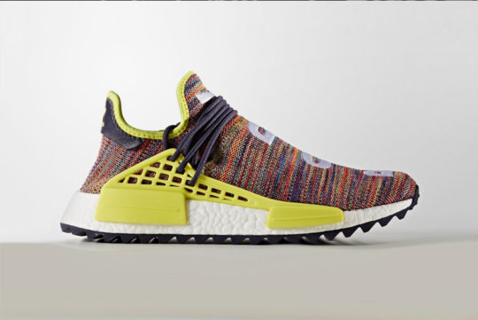 Pharrell Williams x adidas NMD Hu Trail Multi