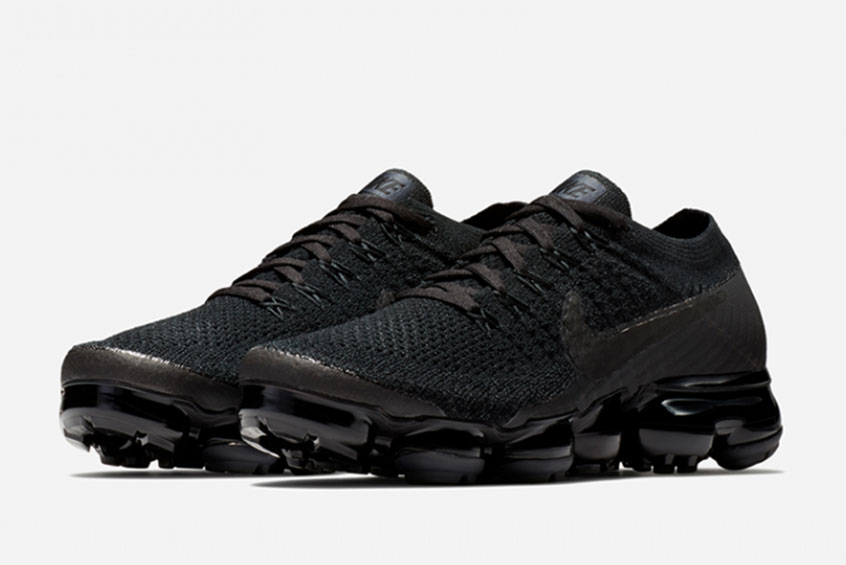 Release Nike Air Vapormax Flyknit Triple Black 2.0 849557-011