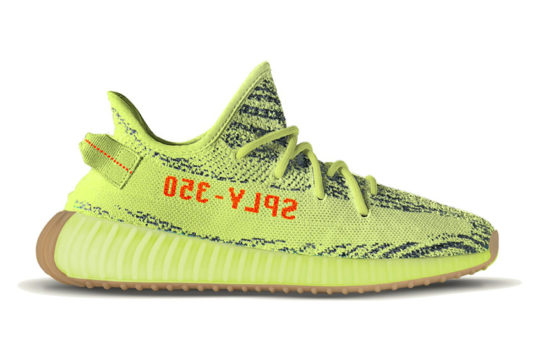 Release Yeezy Boost 350 V2 Semi Frozen Yellow