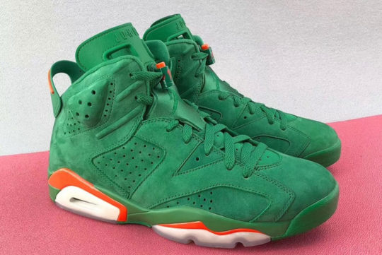 Jordan 6 Gatorade Green