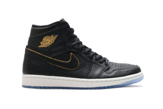 Jordan 1 Retro High OG Black Gold release