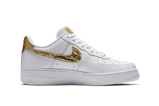 Nike Air Force 1 CR7 Golden Patchwork release