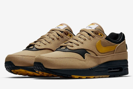 Nike Air Max 1 Premium Elemental Gold release